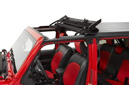 Bestop Black Diamond Jeep Gladiator Sunrider for Hardtop