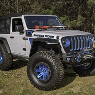 Rugged Ridge Max Terrain Front and Rear Fender Flare Set