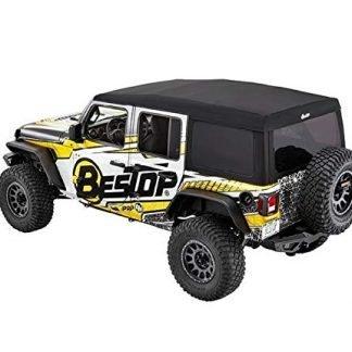 Black Twill Jeep Wrangler JL 4-Door Supertop Ultra