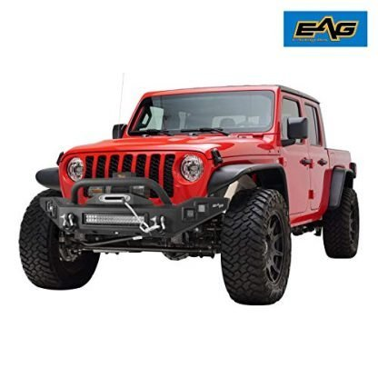 EAG Full Width Jeep JT Front Bumper with LED Lights
