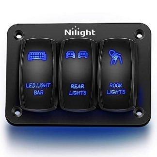 Nilight Jeep Gladiator 3 Switch Panel