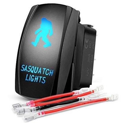 Nilight Jeep Gladiator Sasquatch Light Switch Kit