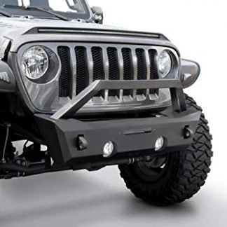 Rampage Jeep JL Black Stubby Front Bumper